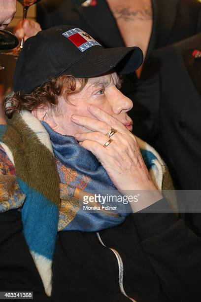 Helmut Berger attends the Champagne And Oyster Reception in Hotel Le Meridien on February 12 2015 in Vienna Austria
