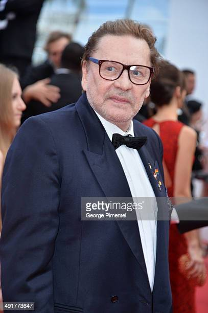 """Helmut Berger attends the """"Saint Laurent"""" Premiere at the 67th Annual Cannes Film Festival on May 17, 2014 in Cannes, France."""
