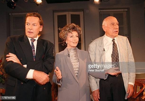 Helmut Berger Sonja Ziemann mit EhemannCharles Regnier ARDTalkshowBoulevard BioThema Die große Liebe
