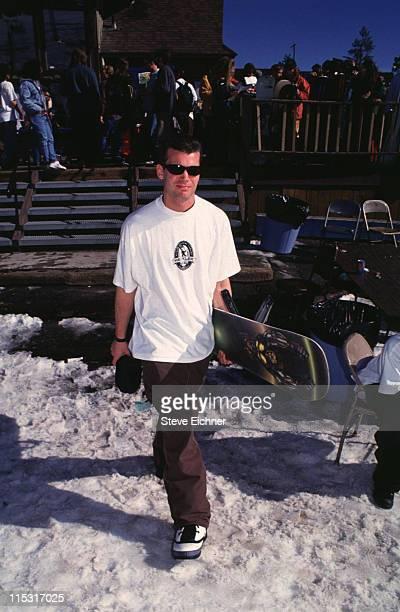 Helmut during Board Aid Lifebeat Benefit 3151995 at Big Bear California United States