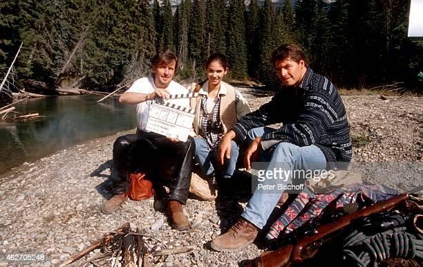 'Helmut Förnbacher Katja Woywood Christopher L Barker ZDFFilm ''Ein unvergeßliches Wochenende in Kanada'' am in Nationalpark in den Rocky Mountains...