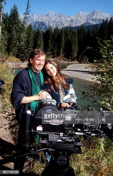 'Helmut Förnbacher Katja Woywood ZDFFilm ''Ein unvergeßliches Wochenende in Kanada'' am in Nationalpark in den Rocky Mountains in British Columbia...