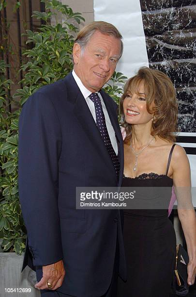 Helmut Huber and Susan Lucci during 10th Annual Michael Awards at Capitale in New York City New York United States