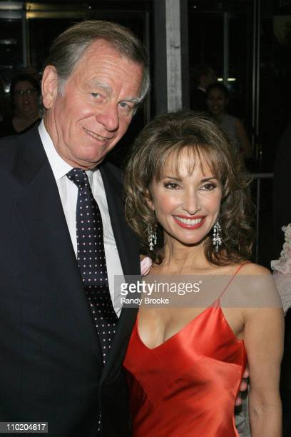 Helmut Huber and Susan Lucci during 31st Annual Daytime Emmy Awards Arrivals at Radio City Music Hall in New York City New York United States