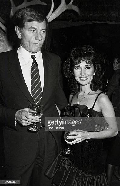 Helmut Huber and Susan Lucci during Entertainment Tonight ABCTV Party at Tavern on the Green in New York City New York United States