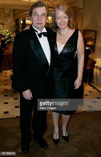 Helmut Karasek and Armgard Seegers-Karasek attend the Gala Spa Awards 2006 on March 25, 2006 in Baden-Baden, Germany.
