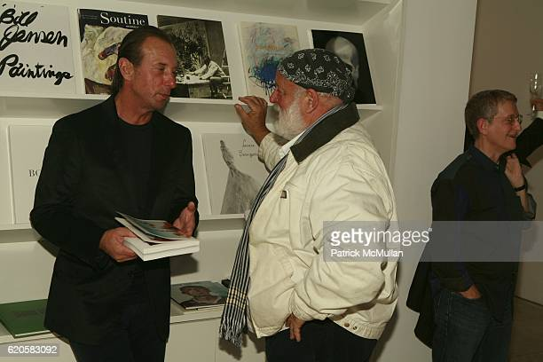 Helmut Lang and Bruce Webber attend LOUIS XIII Celebrates WALLPAPER'S Guest Editor LOUISE BOURGEOISE with HELMUT LANG at Cheim Reid and Glasshouses...