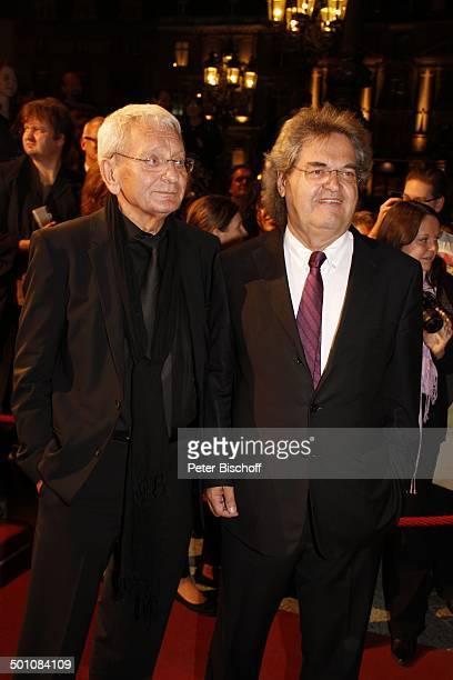 Helmut Markwort name auf wunsch 21 Hessischer Film und Kinopreis 2010 Alte Oper Frankfurt Hessen Deutschland Europa Filmpreis Roterteppich...