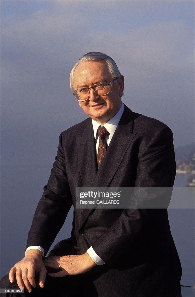 700th Anniversary of Switzerland on January 17, 1991. : News Photo