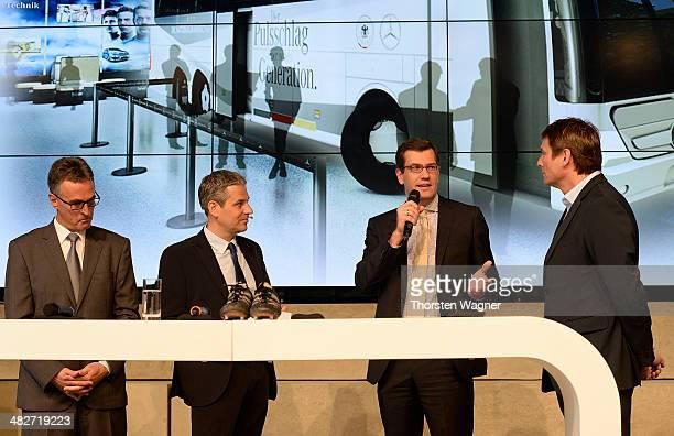Helmut Sandrock, general secretary of German Football Association , Manuel Neukirchner, ceo of foundation of german football museum, Jens Thiemer,...