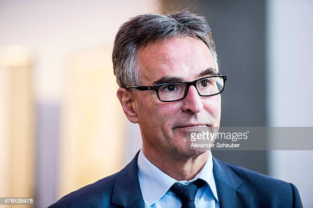 Helmut Sandrock General Secretary of the German Football Association during the DFB Academy citizen fair at the Roemer on June 9 2015 in Frankfurt am...