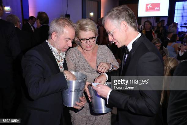 Helmut Zerlett and Andrea Spatzek attend the charity event Dolphin's Night at InterContinental Hotel on November 25 2017 in Duesseldorf Germany