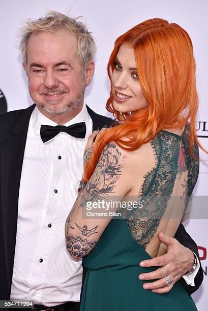 Helmut Zerlett and his daughter Jana Zerlett attend the Lola German Film Award on May 27 2016 in Berlin Germany