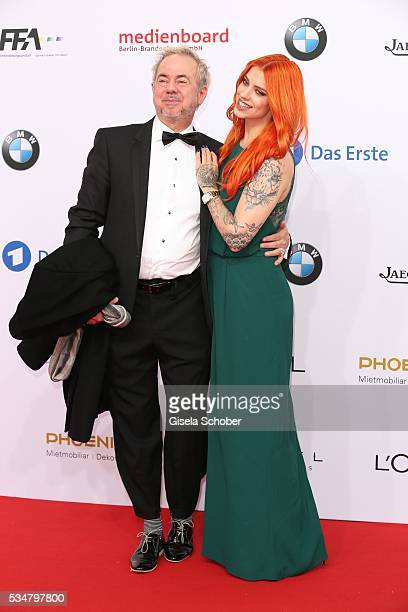 Helmut Zerlett and his daughter Jana Zerlett attend the Lola German Film Award 2016 on May 27 2016 in Berlin Germany