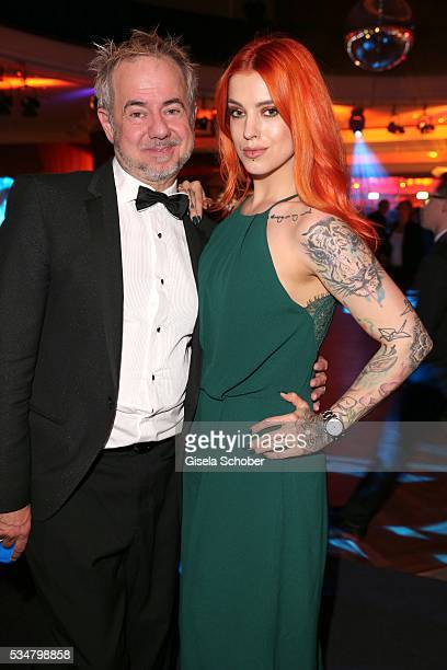 Helmut Zerlett and his daughter Jana Zerlett during the Lola German Film Award 2016 after show party at Palais am Funkturm on May 27 2016 in Berlin...