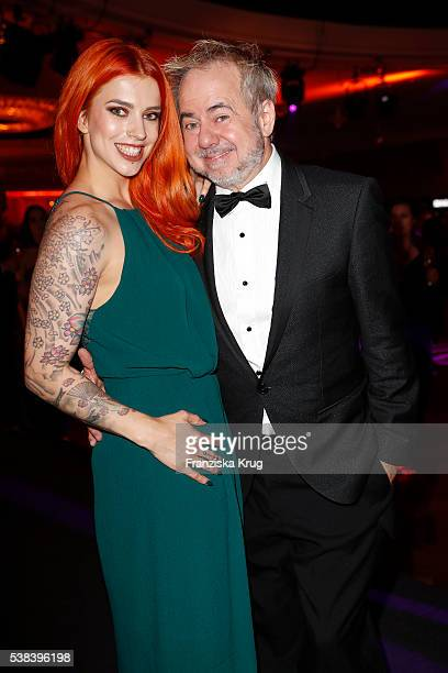 Helmut Zerlett and his daughter Jana Zerlett during the Lola German Film Award 2016 on May 27 2016 in Berlin Germany