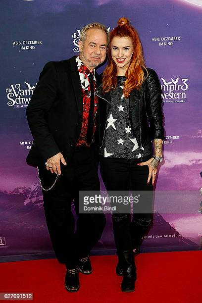 Helmut Zerlett and Jana Zerlett during the premiere of 'Die Vampirschwestern 3' at Mathaeser Filmpalast on December 4, 2016 in Munich, Germany.