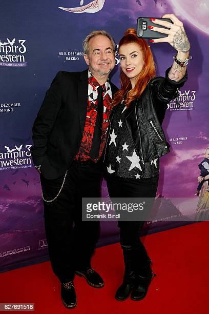 Helmut Zerlett and Jana Zerlett during the premiere of 'Die Vampirschwestern 3' at Mathaeser Filmpalast on December 4 2016 in Munich Germany