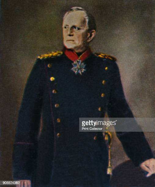'Helmuth von Moltke 18001891' 1934 Helmuth Karl Bernhard Graf von Moltke German Field Marshal The chief of staff of the Prussian Army for thirty...
