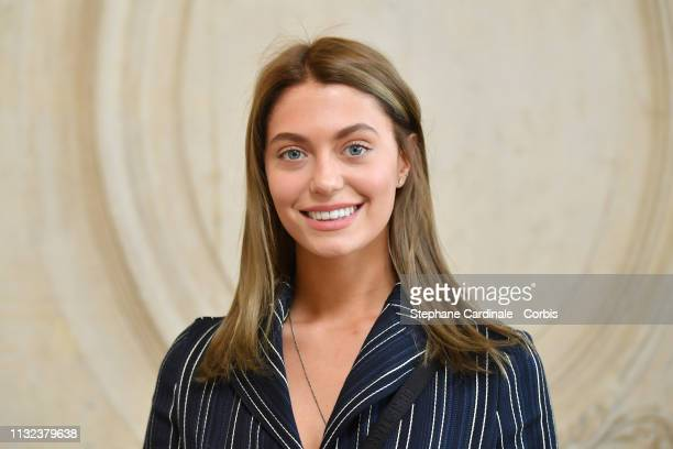 Heloise Agostinelli attends the Christian Dior show as part of the Paris Fashion Week Womenswear Fall/Winter 2019/2020 on February 26 2019 in Paris...