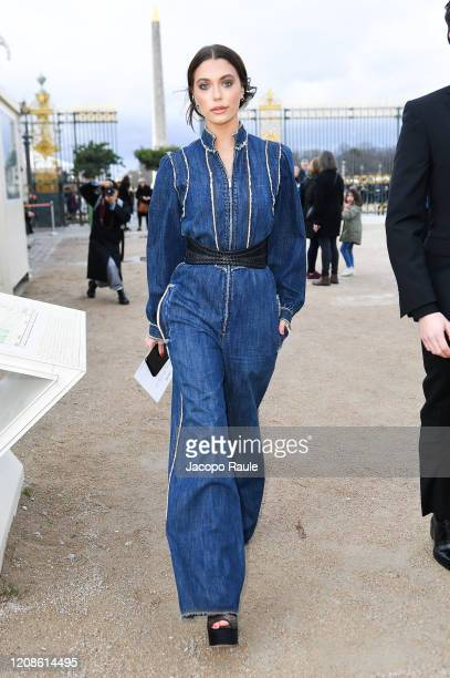 Heloise Agostinelli attends the Dior show as part of the Paris Fashion Week Womenswear Fall/Winter 2020/2021 on February 25 2020 in Paris France