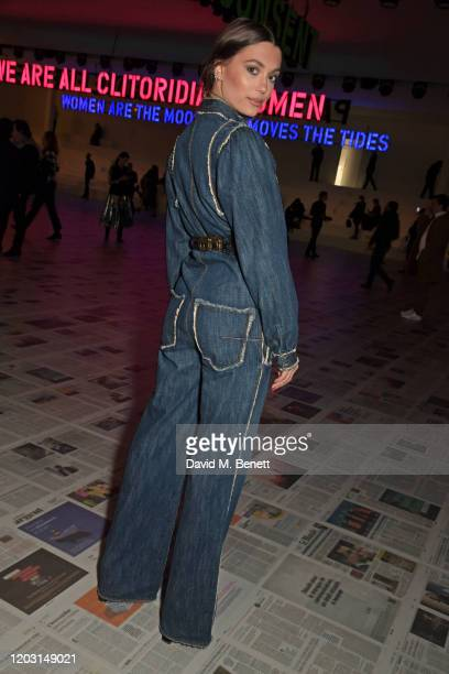 Heloise Agostinelli attends the Dior show during Paris Fashion Week Womenswear Fall/Winter 2020/2021 on February 25 2020 in Paris France