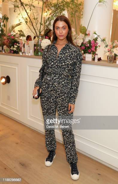 Heloise Agostinelli attends the UK launch event for clean luxury beauty brand Westman Atelier hosted by international makeup artist and brand founder...