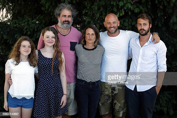 Heloise Dugas Fanie Zanini Gustave Kervern Camille Cottin Franck Gastambide and Mathieu Métral attend 9th Angouleme FrenchSpeaking Film Festival on...