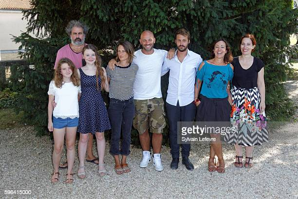Heloise Dugas Gustave Kervern Fanie Zanini Camille Cottin Franck Gastambide Mathieu Métral producer and Sophie Reine attend 9th Angouleme...