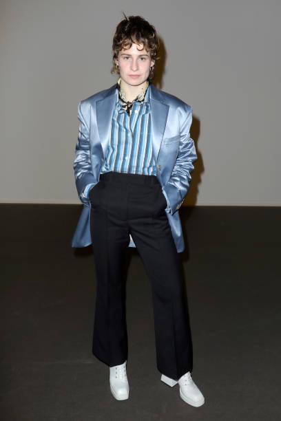FRA: Acne Studios : Front Row - Women's F/W 2020/2021 - Paris Fashion Week -