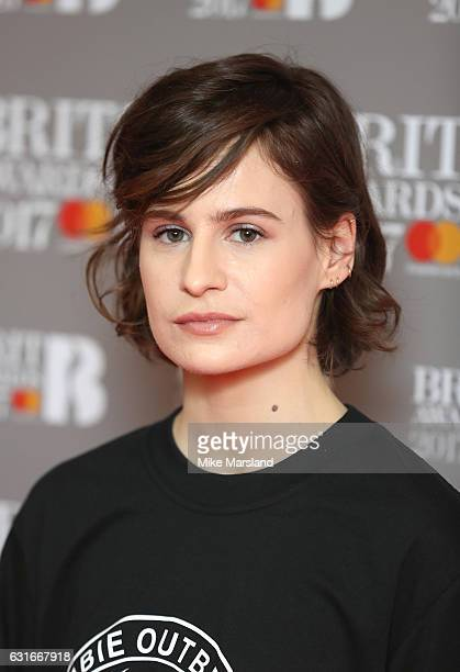 ARTIST Heloise Letissier aka Christine and the Queens attends The BRIT Awards 2017 nominations launch party on January 14 2017 in London United...