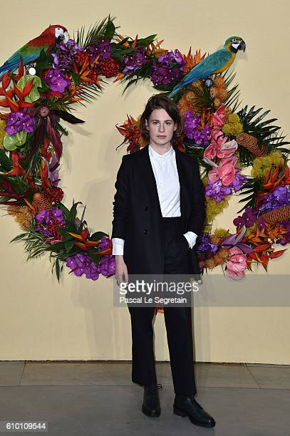 Heloise Letissier attends the Opening Season Gala at Opera Garnier on September 24 2016 in Paris France