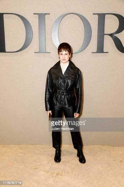 Heloise Letissier of Christine and the Queens attends the Christian Dior Womenswear Spring/Summer 2020 show as part of Paris Fashion Week on...
