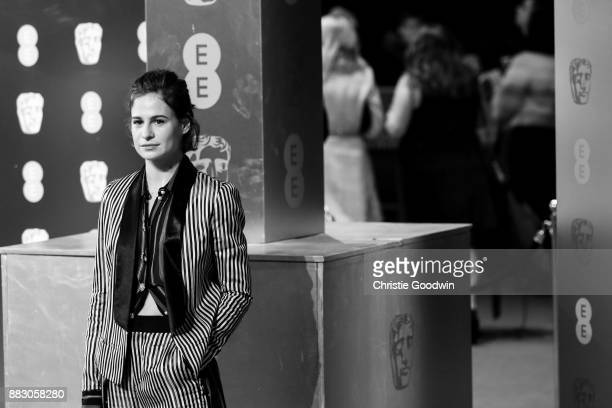 Heloise Letissier of Christine The Queens at the British Academy Film Awards 2017 at The Royal Albert Hall on February 12 2017 in London England