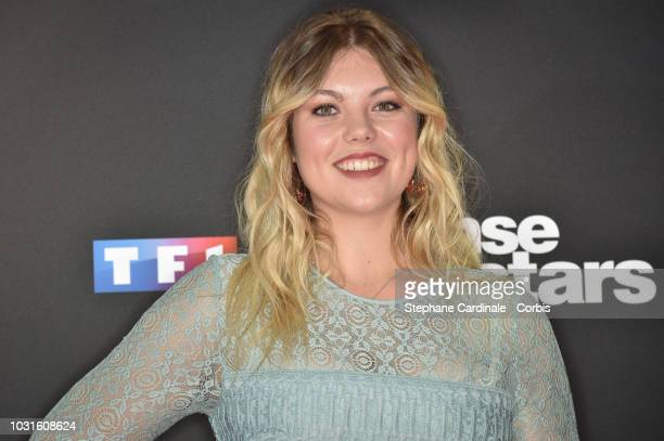 Heloise Martin attends the 'Danse Avec Les Stars 2018' Photocall At TF1, on September 11, 2018 in Paris, France.