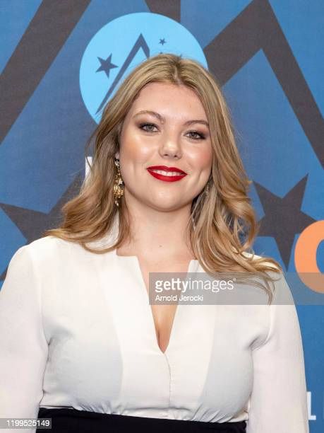 Heloise Martin attends the first day of the 23rd L'Alpe D'Huez International Comedy Film festival on January 14, 2020 in Alpe d'Huez, France.