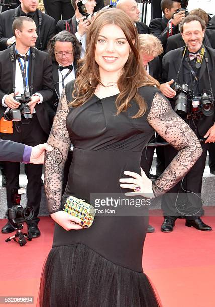 Heloise Martin attends the 'Loving' Premiere at the annual 69th Cannes Film Festival at Palais des Festivals on May 16, 2016 in Cannes, France.