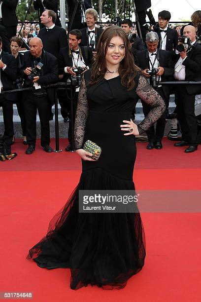 Heloise Martin attends the 'Loving' premiere during the 69th annual Cannes Film Festival at the Palais des Festivals on May 16, 2016 in Cannes, ....