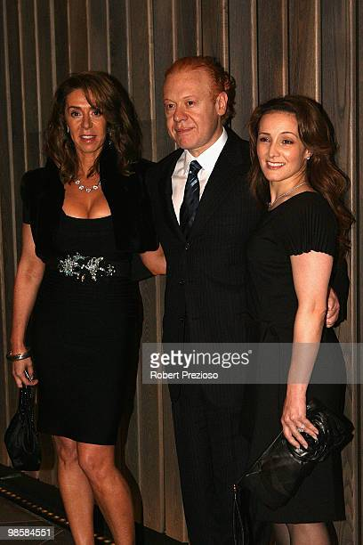 Heloise Pratt and Anthony Pratt attend the opening party of the Crown Metropol hotel on April 21 2010 in Melbourne Australia