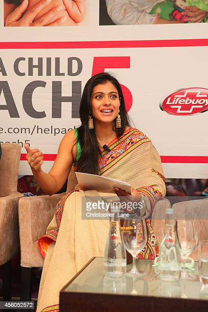 Help A Child Reach 5 ambassador Kajol advocates for handwashing at the roundtable dialogue on 'Scaling Up Hygiene Programmes for Newborn Survival'...