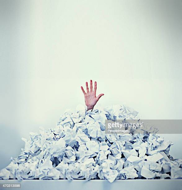 help! i'm drowning in paperwork - burden stock pictures, royalty-free photos & images
