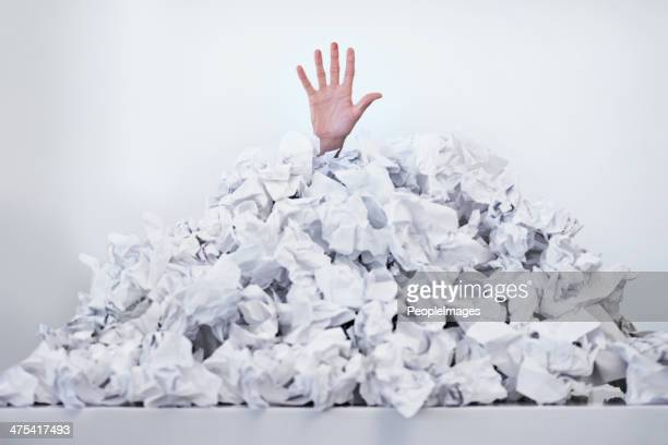 Help! I'm drowning in paperwork