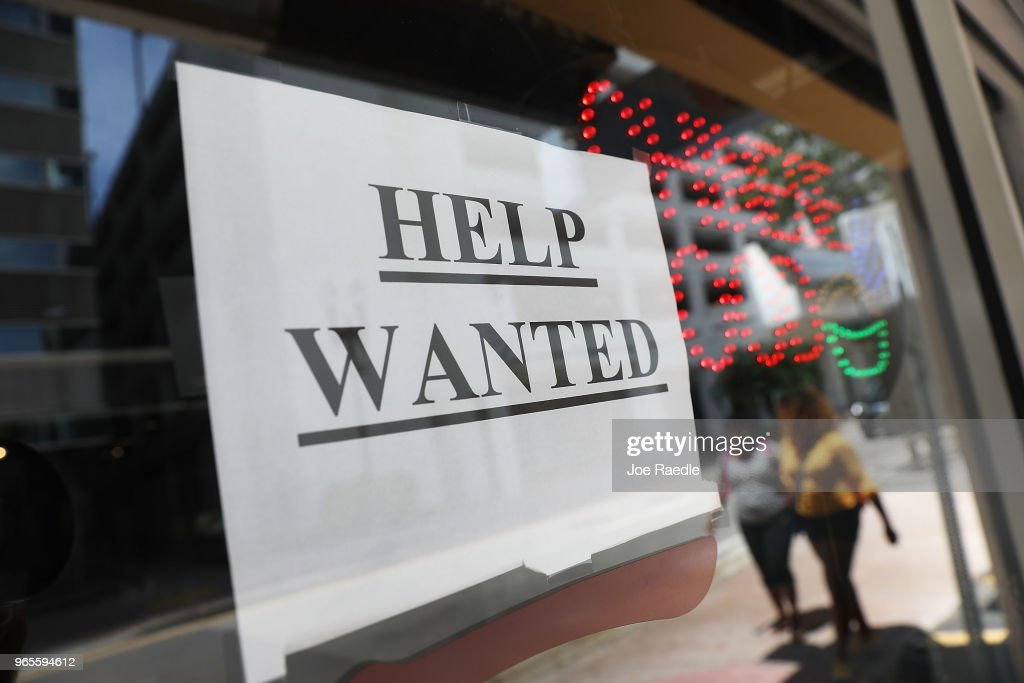 Employers Adding Jobs In May Pushes Unemployment Rate Down To 3.8 Percent : News Photo