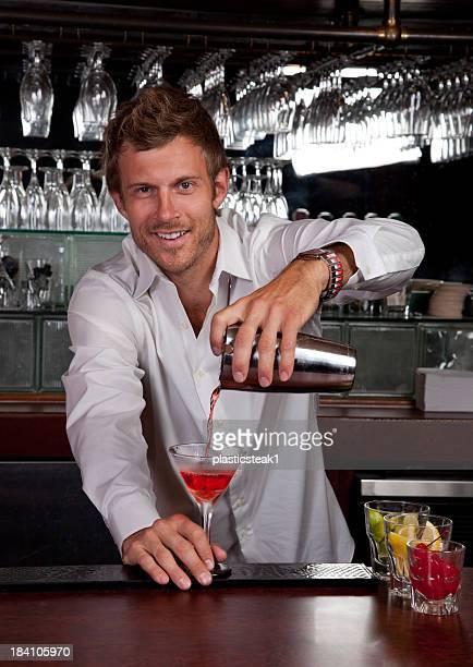 Freundlichen Barkeeper