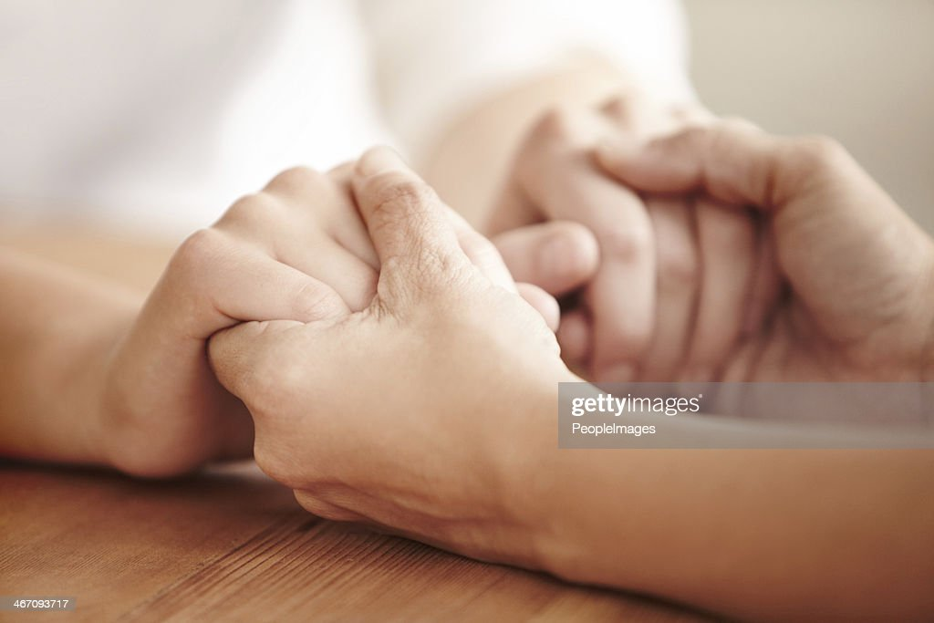 Helping hands are never far away... : Stock Photo