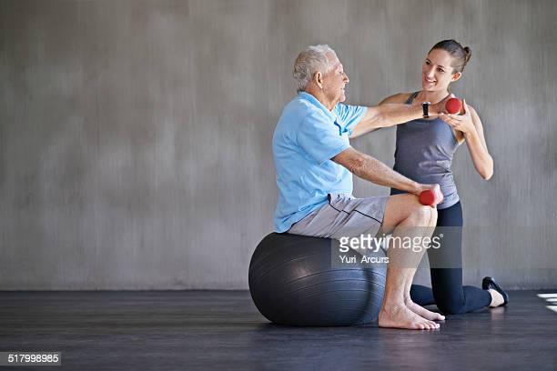 Ayudar a los pacientes a mantenerse firme y saludables