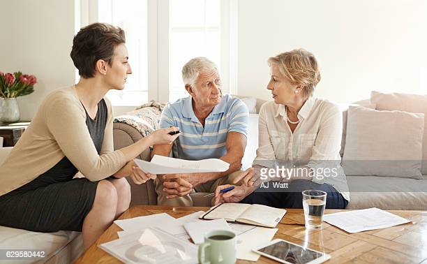 Helping them make sound decisions in retirement
