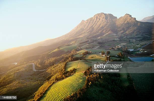 Helshoogte Pass Simonsberg Mountain Stellenbosch Western Cape