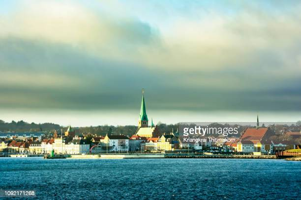 helsingør municipality, denmark. - helsingor stock pictures, royalty-free photos & images
