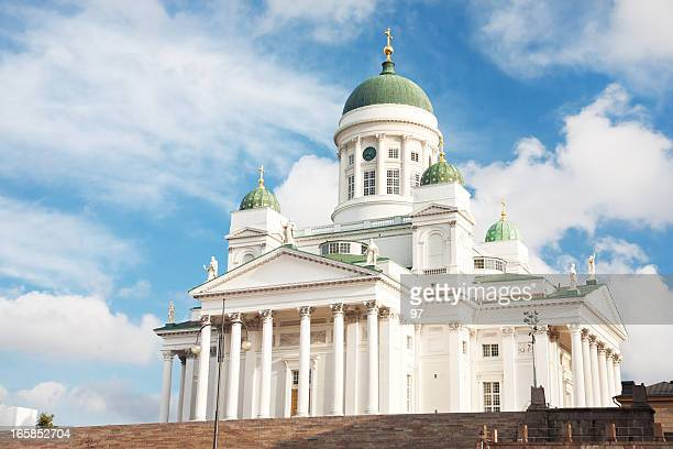 helsinki cathedral. - czar stock pictures, royalty-free photos & images